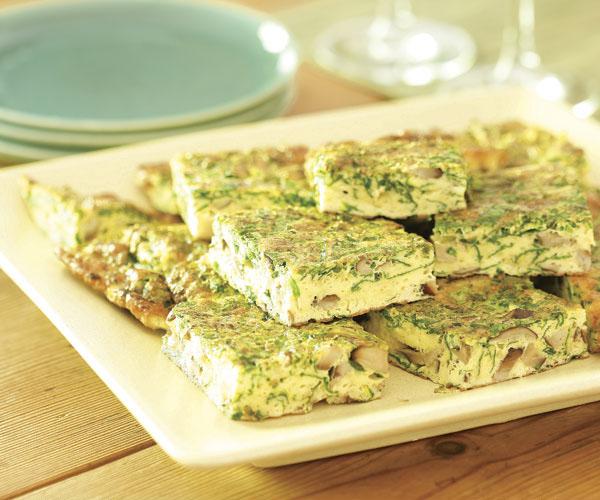 How to Make Artichoke & Mushroom Frittata?